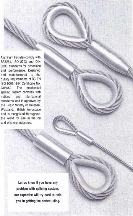 alluminium ferrules